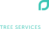 priority trees white logo